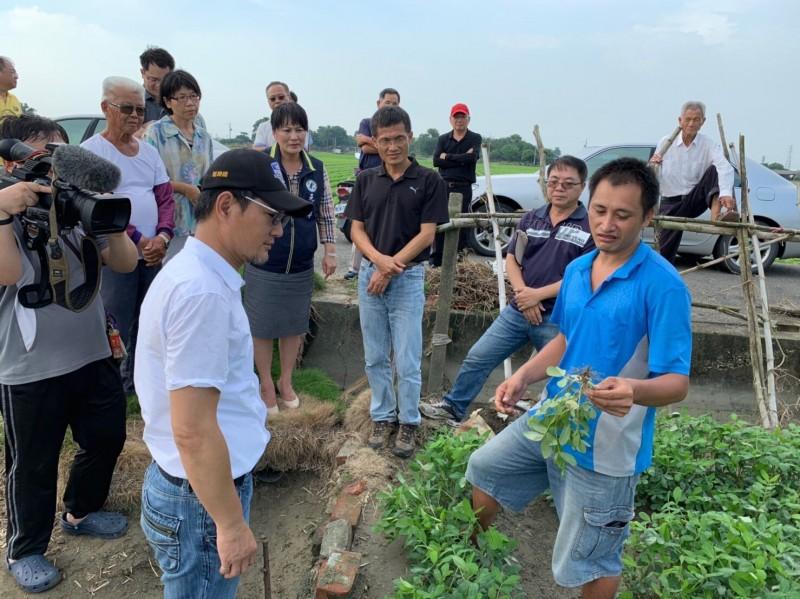 雲林北港、元長落花生 列812雨災現金救助