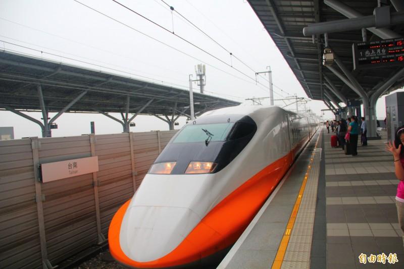 白鹿颱風逐漸遠離,高鐵明日全線正常營運。(資料照)
