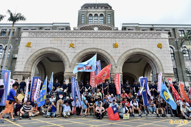 軍公教年改釋憲 黃國昌:雙薪教授是唯一贏家