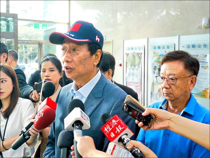 勸郭董選總統 宣明智:黨大於國非民主
