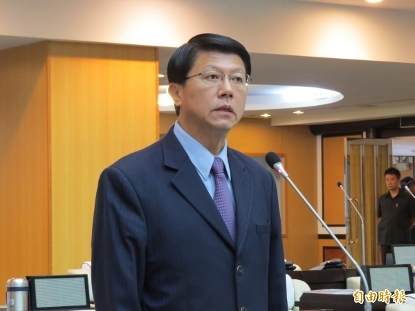 國民黨台南市黨部主委謝龍介。(資料照)