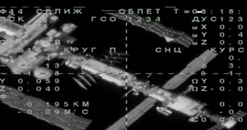Fedor的太空船一度距離國際太空站僅153公尺,準備進行對接,但不明原因失敗,被迫暫離遠離等候時機。(歐新社)