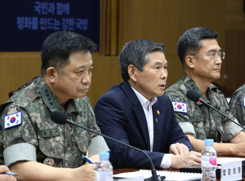 南韓軍方今日(25日)臨時宣布,今明兩天在與日本有主權紛爭的獨島舉行防禦演習。(歐新社)