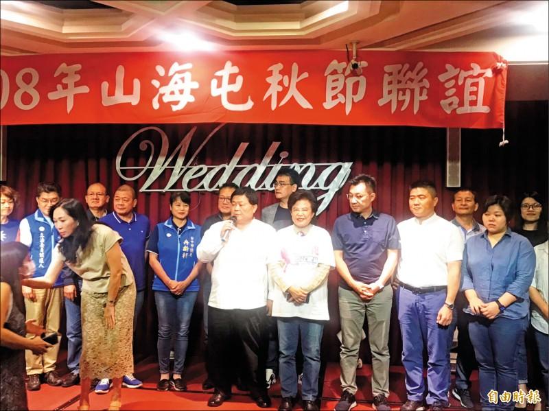 鎮瀾宮董事長顏清標昨嗆郭台銘「有錢是他家的事啦」,最重要的是中華民國的總統要選韓國瑜。(記者張軒哲攝)