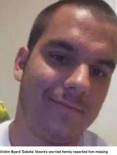 美國奧克拉荷馬州日前一名涉嫌猥褻未成年人的21歲男子摩爾(Byard Moore)在接受調查期間突然失蹤,家屬報案後經警方介入調查,才發現摩爾竟被處以「私刑」。(圖擷取自太陽報)。