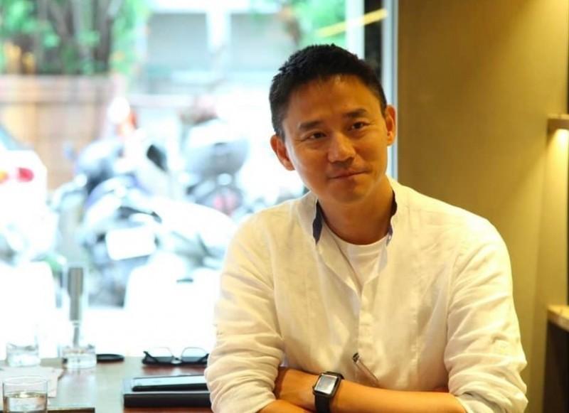 朱康震將出任台中市府副祕書長。(圖:擷取自朱康震臉書)