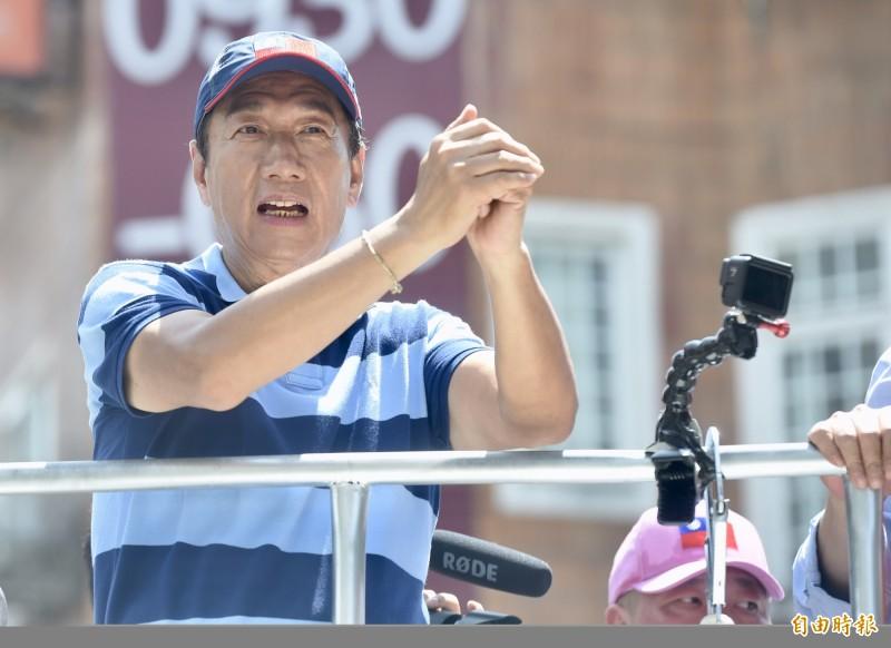 《鏡週刊》報導,鴻海集團創辦人郭台銘的聲量在藍營年輕人日漸高漲,而藍軍青年對韓國瑜不滿日益升高,將導致國民黨面臨「反韓出走潮」。(資料照)