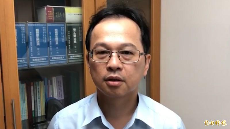 基隆地檢署主任檢察官陳彥章表示,檢察官對於羈押權的行使必須符合法律要件,本案並不符合法律規定的羈押三要件。(記者林嘉東攝)