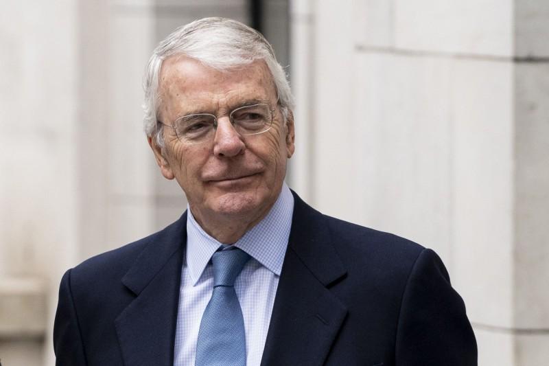 保守黨籍前首相梅傑(John Major)今(30)日宣布將加入阻止強森休會的法律行動。(資料照,法新社)