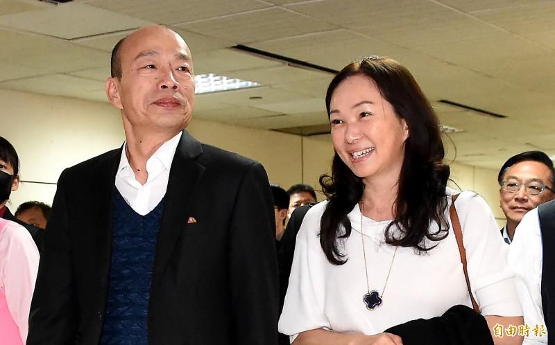 高雄市長韓國瑜4月時曾經出訪美國,預計10月再次出訪。(資料照)