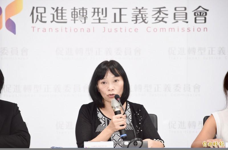 促轉會代理主委楊翠接受原民台專訪表示,在促轉會明年5月任務結束前,將提移轉策略。(資料照)