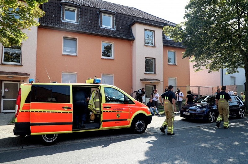 眼鏡蛇驚擾德國西北部1小鎮社區,一週後才被捕。(歐新社)