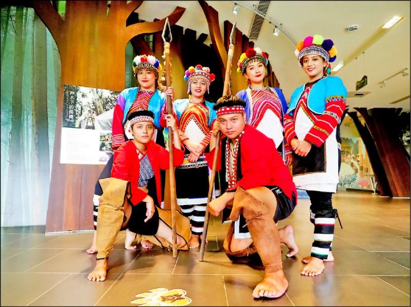 阿里山部落「鄒年慶」展現鄒族特色文化。 (記者蔡宗勳翻攝)