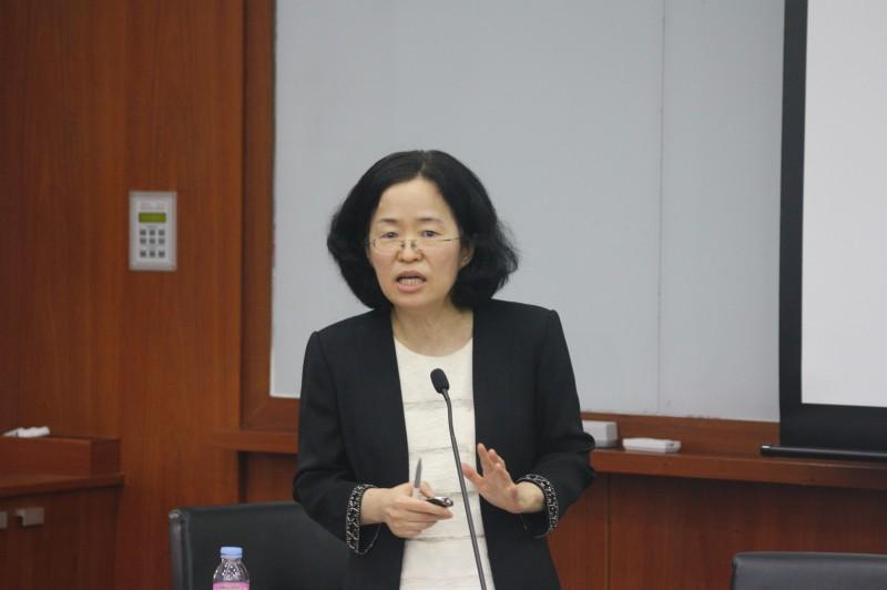 南韓首爾大學的女經濟學教授趙成旭(見圖)被提名為公正交易委員會(FTC)委員長。(圖取自eng.sirfe.com)