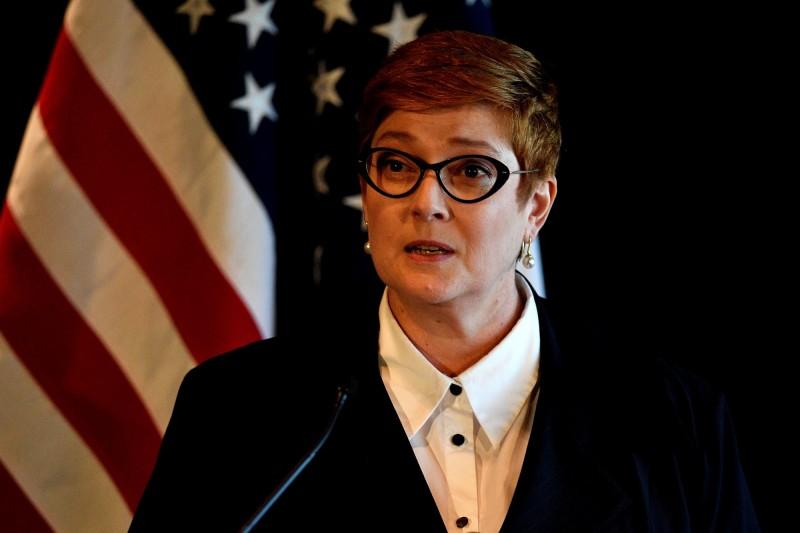 澳洲外交部長佩恩3日呼籲香港政府「傾聽人民聲音」。(法新社檔案照)