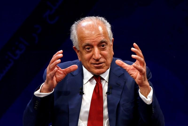 負責阿富汗和解問題的美國特使哈里札德(Zalmay Khalilzad)2日表示,與阿富汗伊斯蘭教激進組織「神學士」(Taliban)原則上已經達成和平協議草案,等待總統最終批准。(路透資料照)