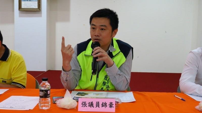 民進黨新北市議員張錦豪。(資料照,新北市政府提供)