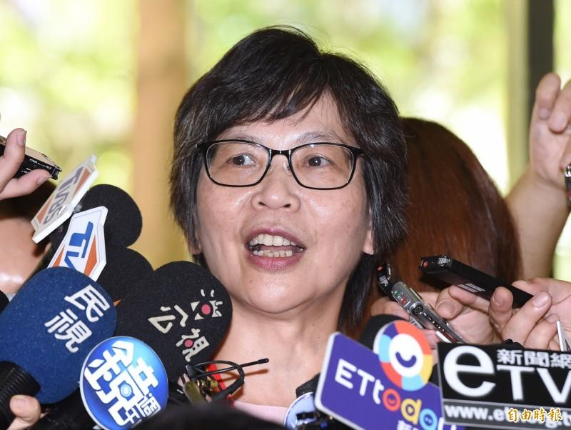 台灣民眾黨發起人蔡壁如。(資料照)