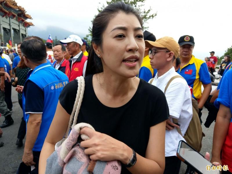 韓國瑜9月8日在新北舉辦首場造勢,國民黨立委許淑華今表示,韓國瑜非常緊張,最擔心的是「沒有人來」。(資料照)