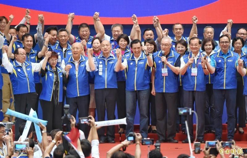 中國學者辛灝年認為,國民黨想要國共合作,將來會落得流亡海外的下場。(資料照)