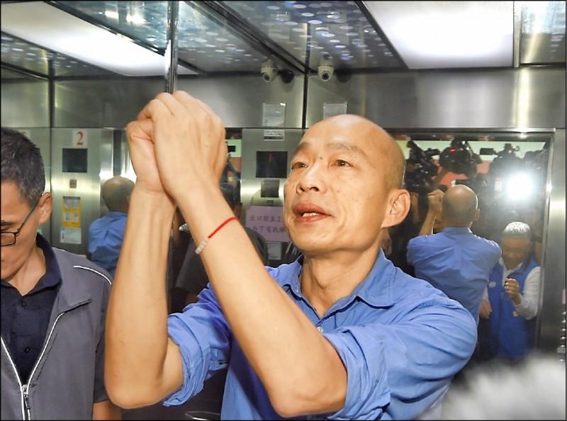 C型台獨是一中是中華民國,也就是秋海棠主張者,包括憲法說與國統綱領認同者,這種人被認為與台獨具有共通性,韓國瑜應該算這類。(資料照)