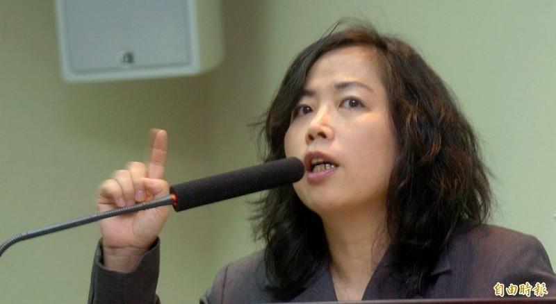 黃智賢不滿龍應台聲援反送中,在臉書與微博對她以「呸」字表達不滿。(資料照)