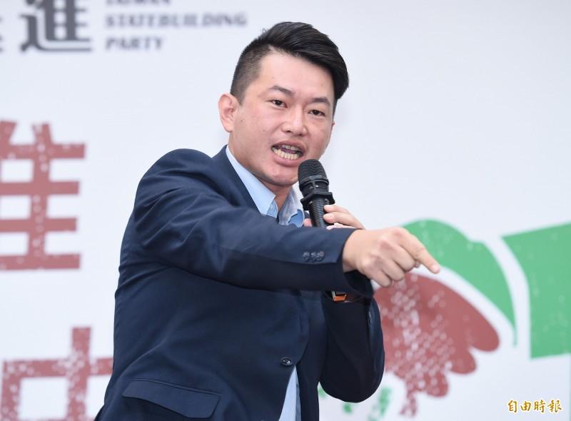 陳柏惟最新聲明裡說,賺中國的錢搞台獨,這件事情他有經驗。(資料照)