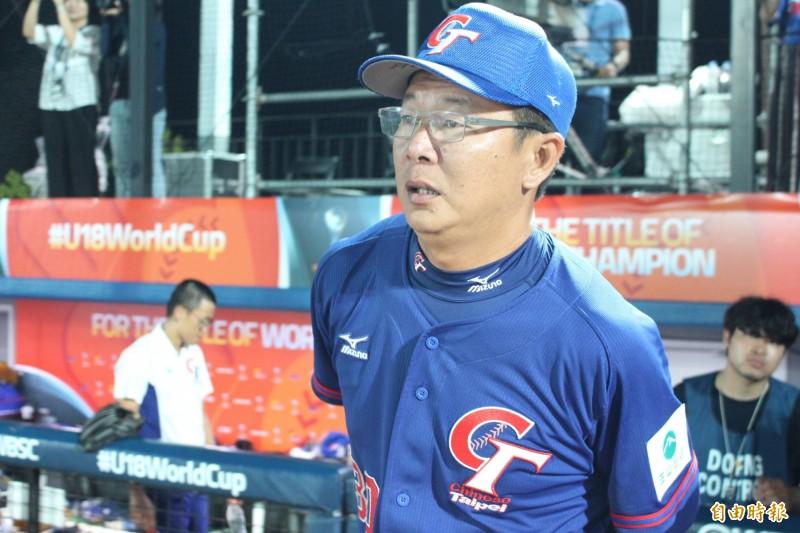 台灣隊總教練周宗志。(資料照)