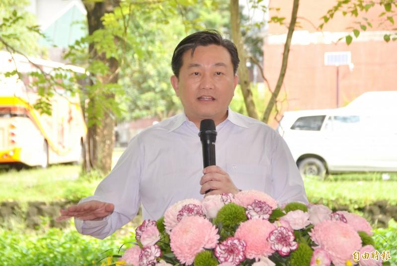 立委王定宇強調,對他而言,目前最重要的是市民福祉與地方發展。(記者吳俊鋒攝)