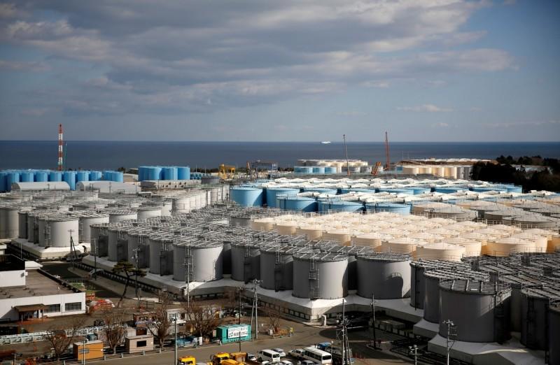 福島核廢水儲存庫將在2022年用盡,日本擬將核廢水排入大海稀釋。(路透)