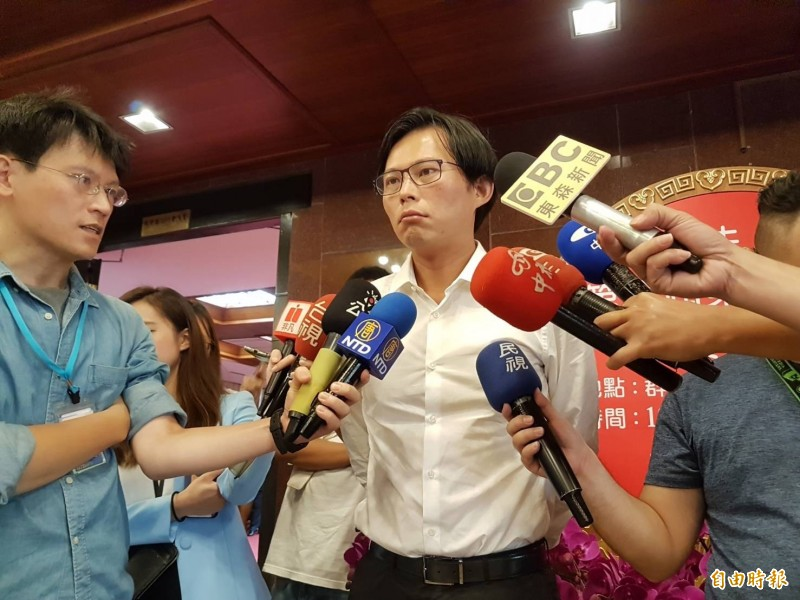 時代力量黨不排除自提總統候選人,立委黃國昌被列為考量人選。(資料照,記者謝君臨攝)