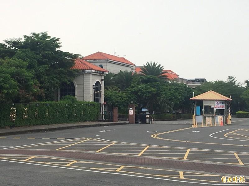 稻江科技暨管理學校遭爆開學前夕一級主管人事大地震。(記者蔡宗勳攝)