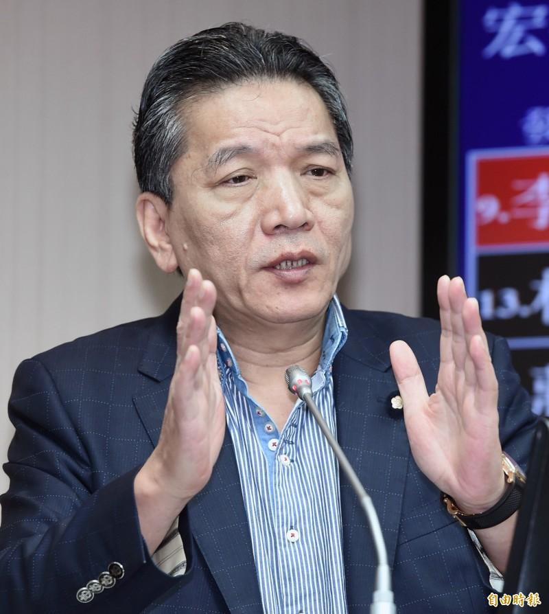 親民黨秘書長李鴻鈞。(資料照)