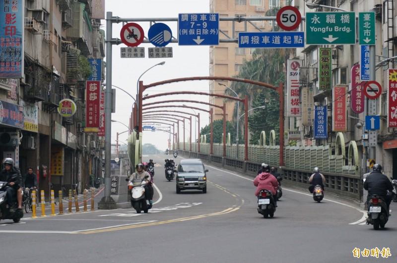 永福橋一景,圖與本文無關。(資料照)