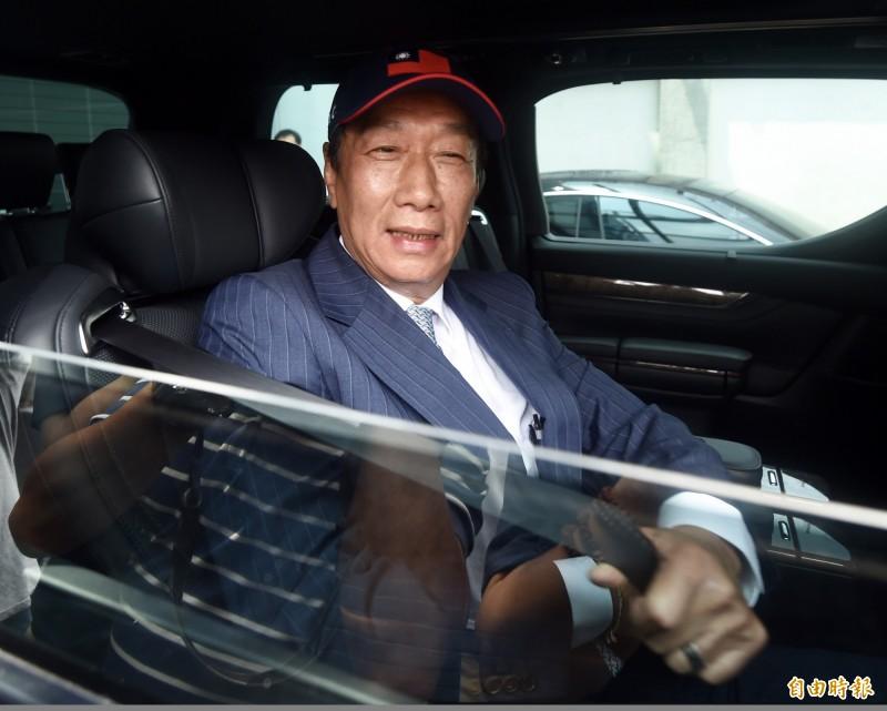 鴻海集團創辦人郭台銘。(資料照)