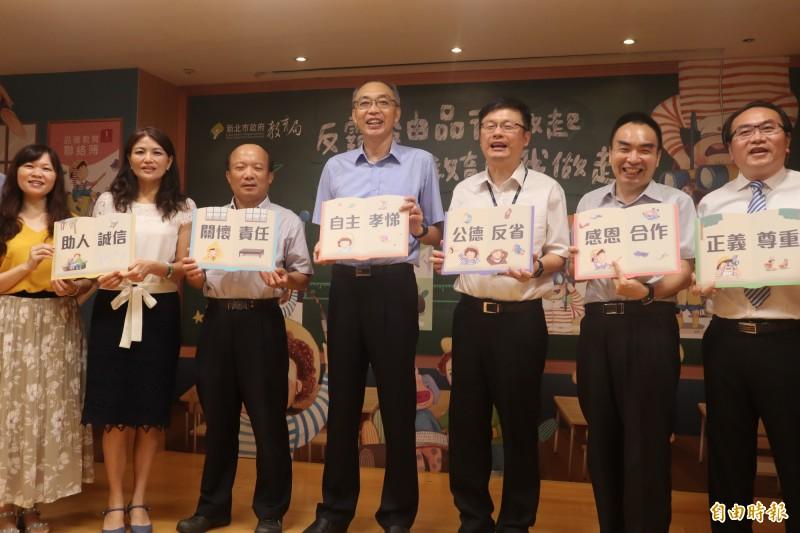 副市長謝政達表示,近期連續發生多起霸凌事件,希望校園環境變得更友善。(記者周湘芸攝)