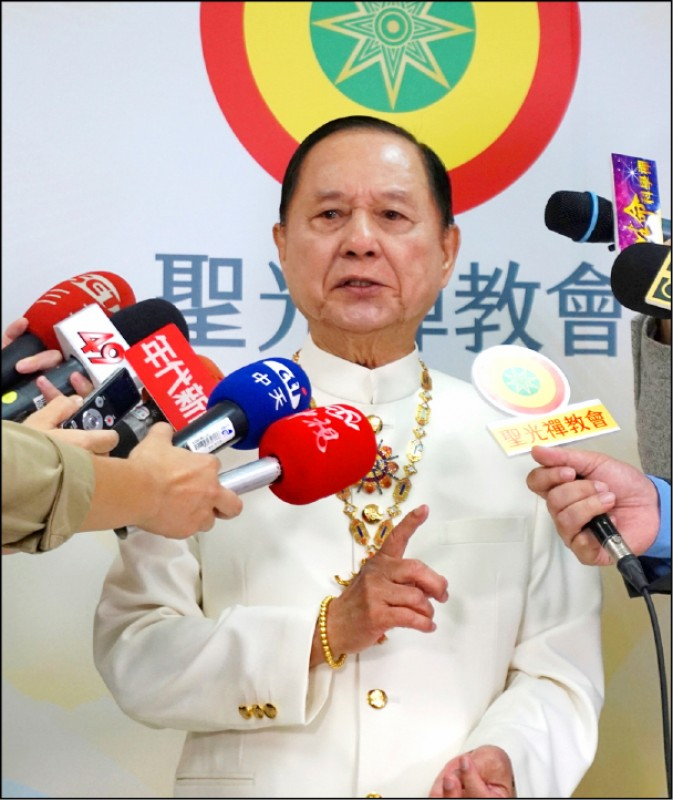 妙天同時身為電視台「台灣藝術台」最大股東兼董事,還籌組「國會政黨聯盟」,NCC昨以其違反黨政軍禁止投資及擔任董事等規定,重罰台灣藝術台二百萬,並命其限期改正。(資料照)
