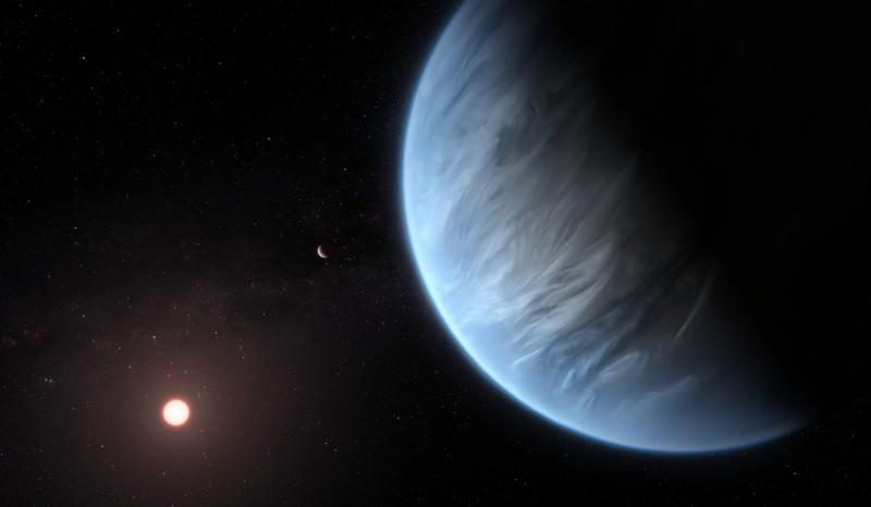 科學家發現適合人類居住的超級地球。(擷取自NASA)
