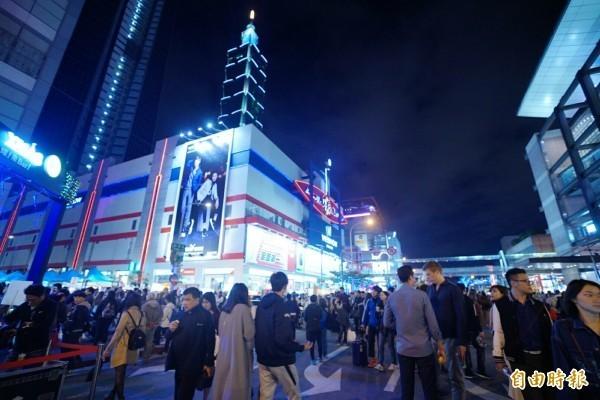 知名訂房網站Agoda今日公布中秋假期南韓旅客10大熱門旅遊地點,台北從去年的第6名躍升至第1名。(資料照)