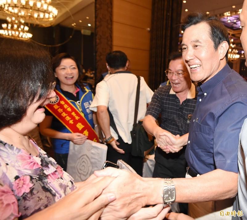 被問郭台銘退黨,前總統馬英九辦公室不評論。(資料照)