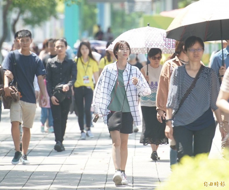 氣象專家們提出連假最新天氣預測,民眾應可以放心準備迎接假期到來。(資料照)