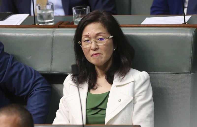 澳洲首位眾議院華裔議員廖嬋娥被踢爆過去曾擔任中國海外交流協會廣東分會、山東分會的理事。(美聯社)