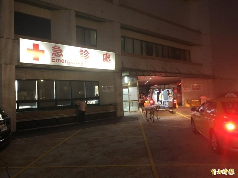 林姓男子全身刀傷遭丟包忠孝醫院急診室,傷重不治身亡。(資料照)