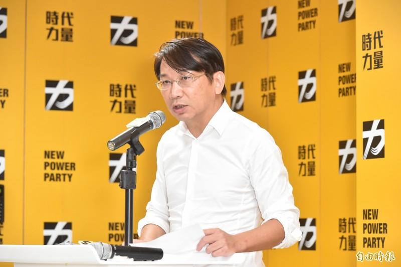 時代力量黨主席徐永明今(14)日在臉書發文,針對綠營湧現緩推中共代理人法一事表達看法。(資料照)