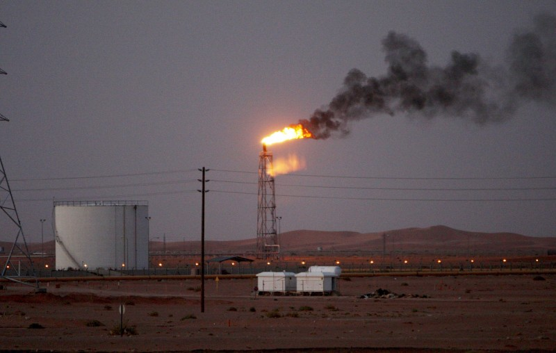 位於胡賴斯的沙國第2大油田也遭到攻擊。(歐新社)
