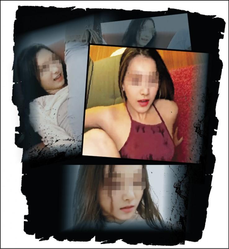 台灣知名女藝人被色情業者用時下最新科技「Deepfake」,將她的面貌「完美地複製」後,「換到」色情片女演員身上。(記者劉慶侯翻攝自網站)