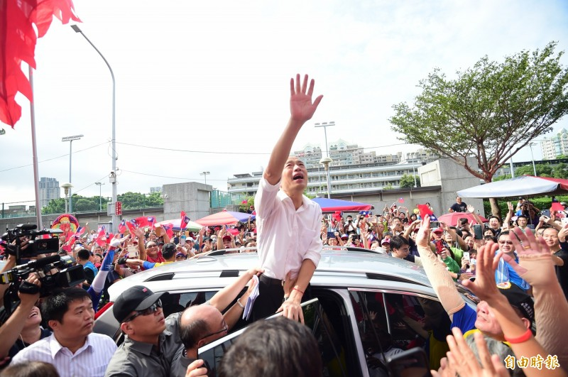 北漂媽媽潘金英認為,韓國瑜近期的言行舉止,辜負89萬名高雄人給他的選票。(資料照)