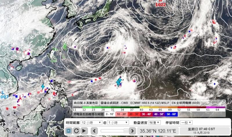 天氣風險公司分析師吳聖宇分析,週二(17日)將是天氣變動的重要關鍵。(圖擷取自彭啟明臉書)