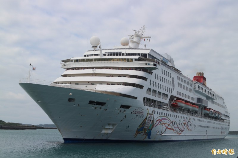 今年澎湖中客人數增加,主要是恢復郵輪航行。(記者劉禹慶攝)