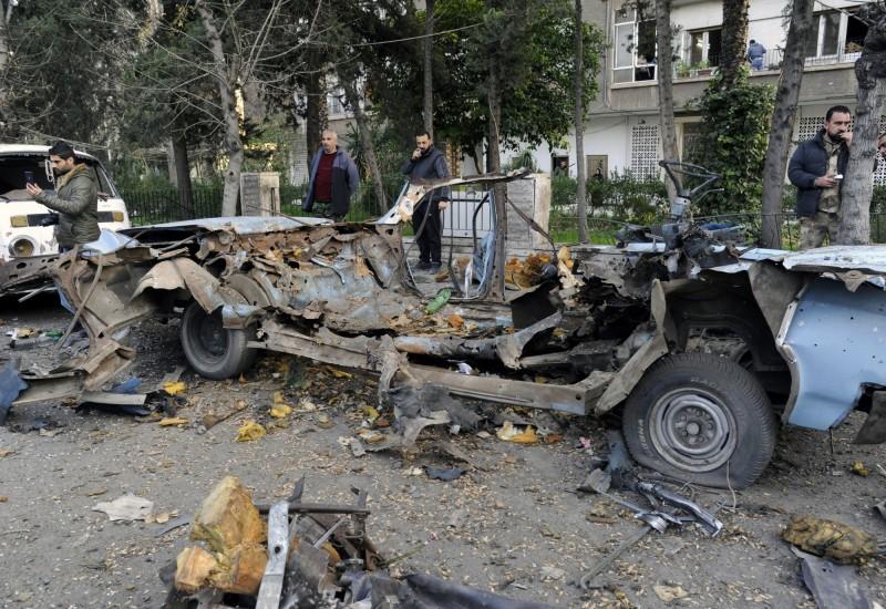 敘利亞醫院旁汽車炸彈爆炸 釀10死15傷